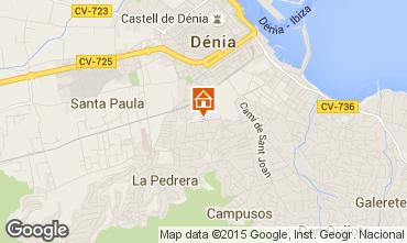 Karte Dénia Appartement 75156