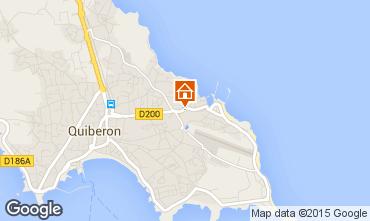 Karte Quiberon Appartement 28192
