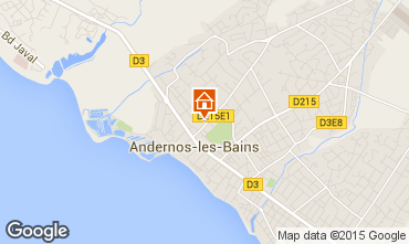 Karte Andernos les Bains Appartement 62761