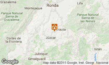 Karte Ronda Ferienunterkunft auf dem Land 95695