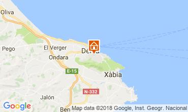 Karte Dénia Appartement 113565