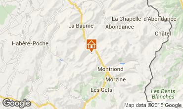 Karte Saint Jean d'Aulps- La Grande Terche Studio 43163