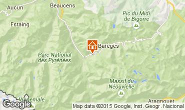 Karte Luz Saint Sauveur Fremdenzimmer 97074