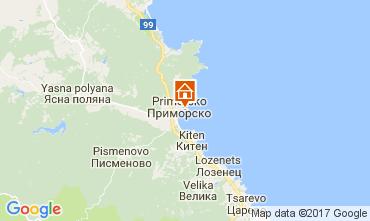 Karte Primorsko Appartement 112650