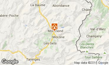 Karte Morzine Chalet 1962