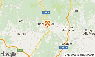 Karte Roccastrada Villa 55549