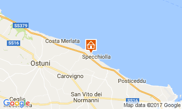 Karte Ostuni Villa 109272