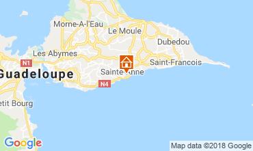 Karte Sainte Anne (Guadeloupe) Bungalow 117399