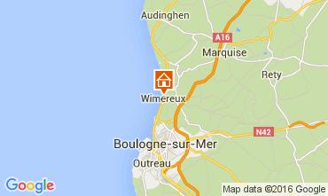 Karte Wimereux Haus 70960