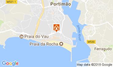 Karte Praia da Rocha Appartement 113105