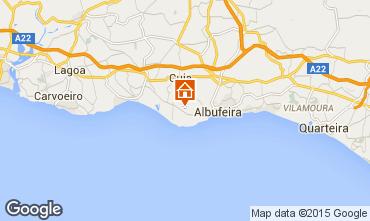 Karte Albufeira Appartement 70603