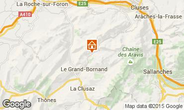 Karte Le Grand Bornand Chalet 1363