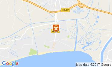Karte Vias Plage Mobil-Home 108149