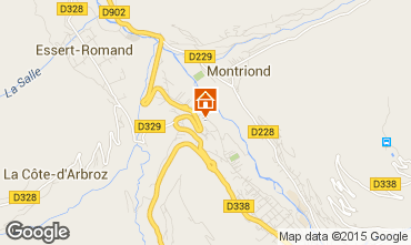Karte Morzine Chalet 21894