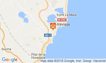 Karte Torrevieja Appartement 115074