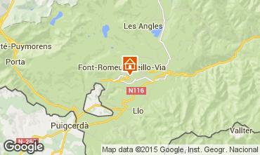 Karte Font Romeu Appartement 4175