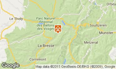 Karte La Bresse Hohneck Haus 4529
