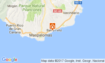 Karte Maspalomas Appartement 111198