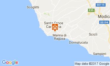 Karte Marina di Ragusa Appartement 109156