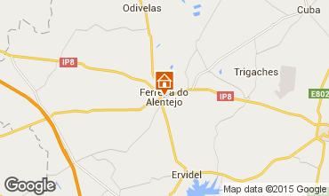 Karte Ferreira do Alentejo Ferienunterkunft auf dem Land 99488