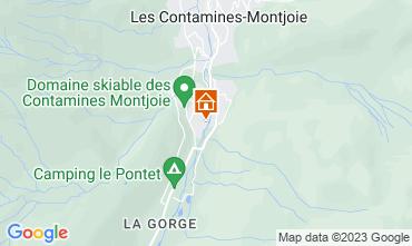 Karte Les Contamines Montjoie Appartement 81787