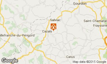 Karte Rocamadour Haus 101949