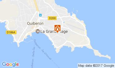Karte Quiberon Appartement 107688