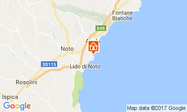 Karte Avola Villa 108927