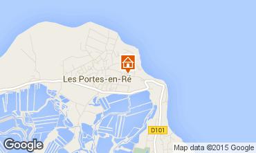 Karte Les Portes-en-Ré Haus 5037