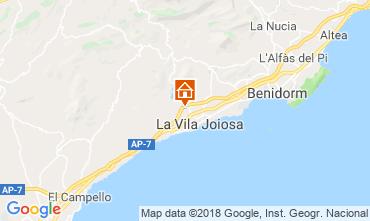 Karte Benidorm Villa 97736