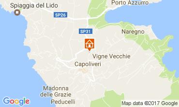 Karte Capoliveri Appartement 109213