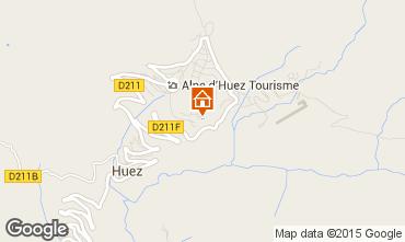 Karte Alpe d'Huez Studio 38943
