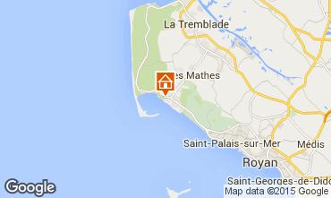 Karte La Palmyre Mobil-Home 59966