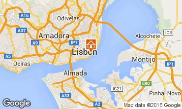 Karte Lissabon Studio 55576