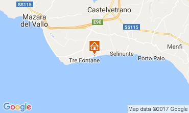 Karte Tre Fontane Appartement 107968