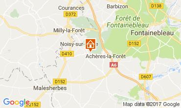 Karte Fontainebleau Haus 62235