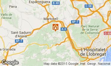 Karte Barcelona Villa 85228