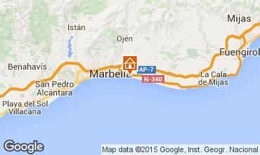 Karte Marbella Appartement 100770