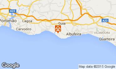 Karte Albufeira Appartement 46332