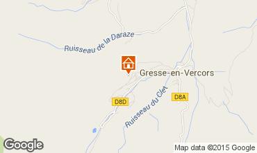 Karte Gresse en Vercors Studio 28748