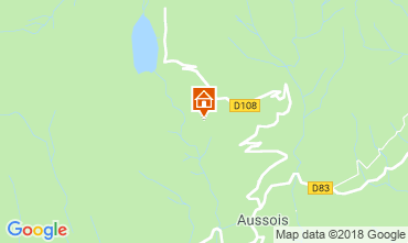Karte Aussois Appartement 38700