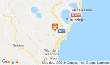 Karte Torrevieja Haus 104261