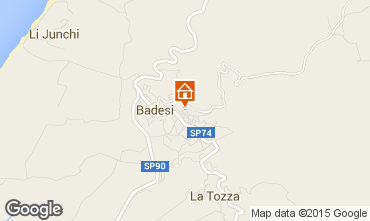 Karte Badesi Appartement 33840