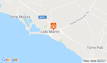 Karte Lido Marini Haus 85090