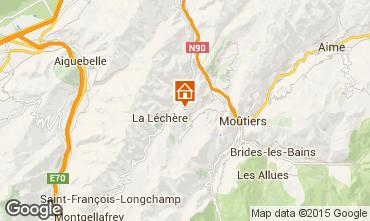 Karte Valmorel Chalet 3473