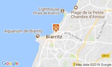 Karte Biarritz Studio 112149