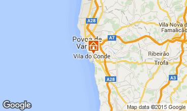 Karte Vila do Conde Appartement 75568