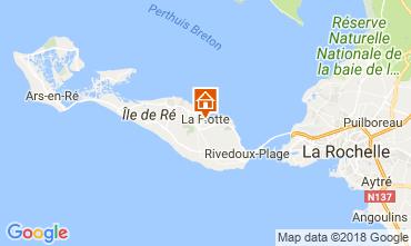 Karte La Flotte en Ré Haus 17085