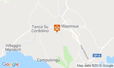 Karte Villasimius Appartement 117111