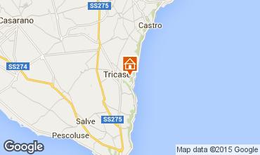 Karte Tricase Villa 98089